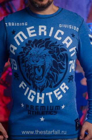 American Fighter  | Пуловер мужской AF226740 от Affliction принт спереди лев