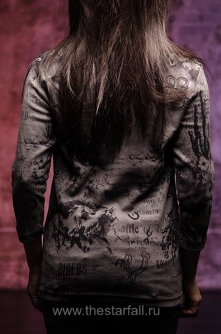 Cactus Bay   Женский пуловер Black Boots в ковбойском стиле