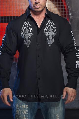 Мужская рубашка Rebel Spirit LSW151780 перед