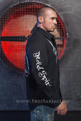 Мужская рубашка Rebel Spirit LSW151780 правый бок