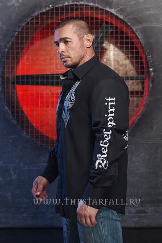 Мужская рубашка Rebel Spirit LSW151780 левый бок