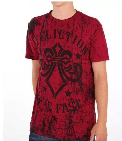 Affliction | Двусторонняя мужская футболка Primitive Reversible A5985B обратная сторона перед