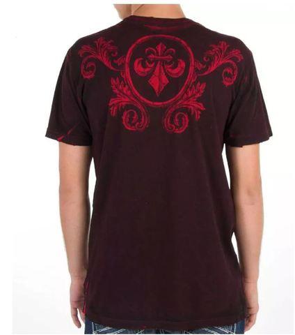 Affliction | Двусторонняя мужская футболка Primitive Reversible A5985B спина