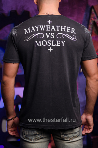 Футболка Mayweather vs Mosley Affliction