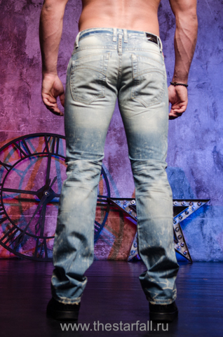 Мужские джинсы Robins Jean GLOBE TROTTER