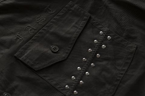 Affliction | Рубашка мужская LEGACY 110WV777 клёпки на переднем кармане