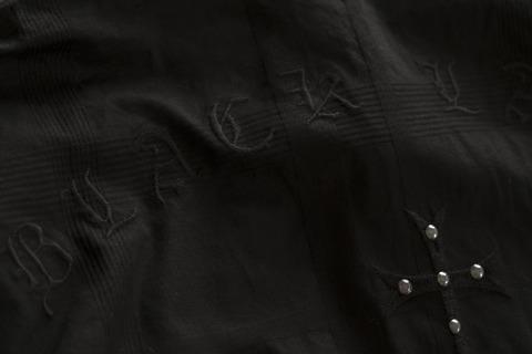 Affliction | Рубашка мужская LEGACY 110WV777 вышивка на спине