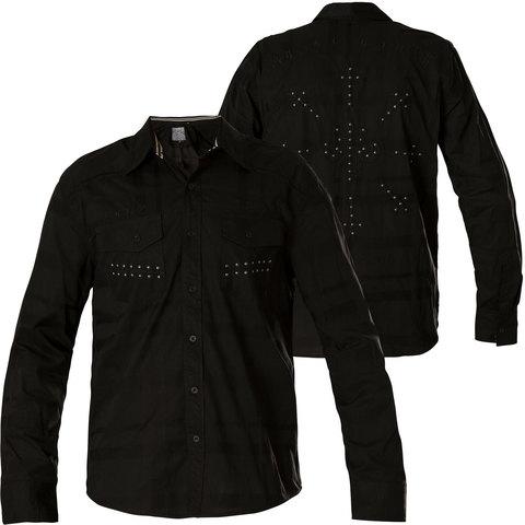 Affliction | Рубашка мужская LEGACY 110WV777 перед и спина