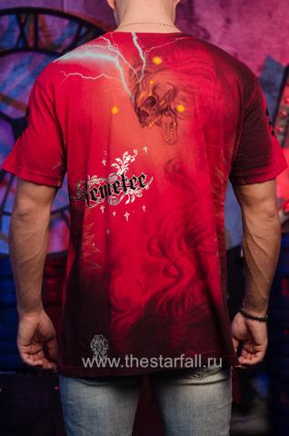 Футболка Remetee by Affliction RM2439 спина