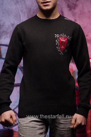 Пуловер Rebel Spirit FTZH11897BLK перед