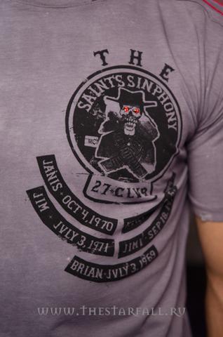 The Saints Sinphony   Футболка OUTLAW TS105 27 CLUB передний принт