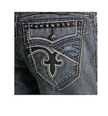 Rock Revival | Джинсы мужские ARTUR TA6 TAPER SUPER STRETCH TJ1646TA6 задний карман