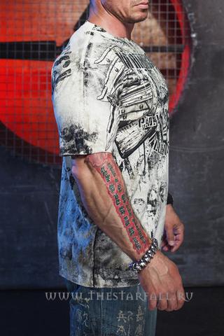 Xtreme Couture | Футболка мужская Fallen Heroes X1501 от Affliction правый бок