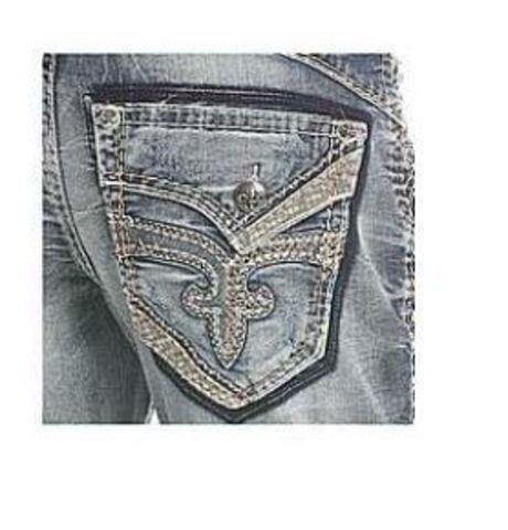 Rock Revival   Джинсы мужские RAITH B202 BOOT CUT JEAN DP2223B202 задний карман