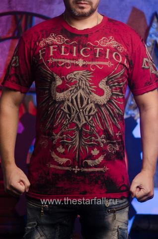 Двусторонняя футболка RUSH GEORGES ST-PIERRE ОТ AFFLICTION