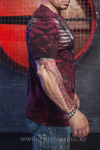 Xtreme Couture   Футболка мужская Hell Born X1383 от Affliction правый бок