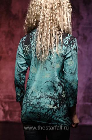 Женский пуловер Painted Ponies Cactus Bay. Made in USA спина