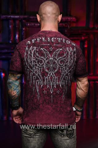 Купить двустороннюю футболку Affliction HYPOTHESIS