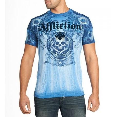 Affliction | Футболка мужская Ghost Tale перед