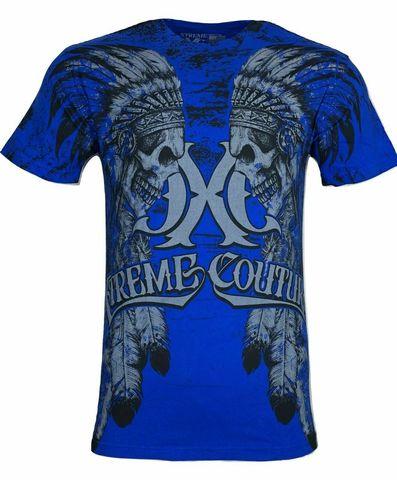 Xtreme Couture   Футболка мужская NATIVE X791 от Affliction перед