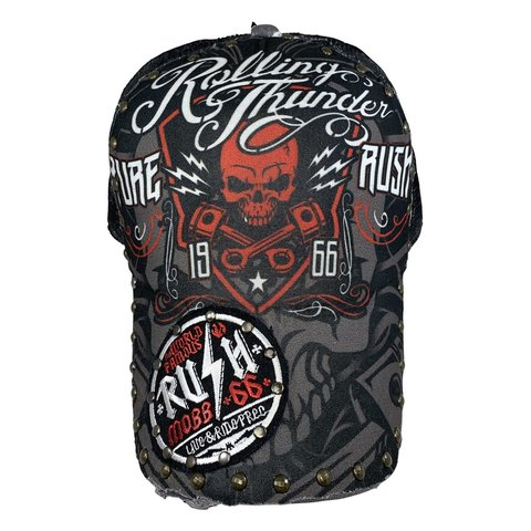 Бейсболка ROLLING THUNDER SNAP HAT Rush Couture