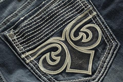 Affliction | Джинсы мужские Ace Fleur Fabl 110SS228 лилия задний карман