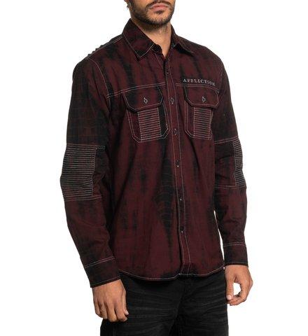 Affliction   Рубашка Banish 110WV808 правый бок