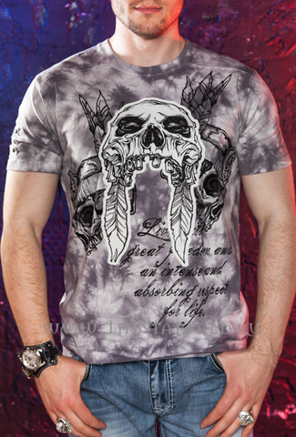 футболка Rebel Spirit SSK110700 перед на модели
