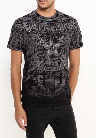Xtreme Couture | Футболка мужская Men Of Honor X1505 от Affliction перед на модели