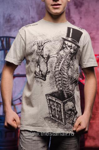 футболка Affliction Rabbit Criss Angel Mindfreak