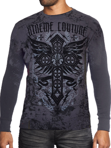 Пуловер STATUS UNKNOWN THERMAL Xtreme Couture от Affliction