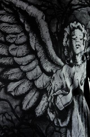 Affliction | Футболка мужская Grave Angel Tee A468 принт спереди