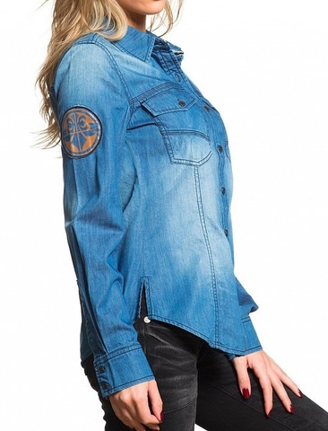 Affliction рубашка BLUE DAWN