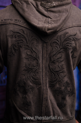 Rebel Spirit | Худи мужское FTZH111193 вышивка на спине