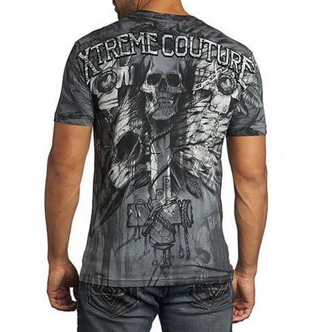 Xtreme Couture   Футболка Darkness Black X1371 от Affliction спина