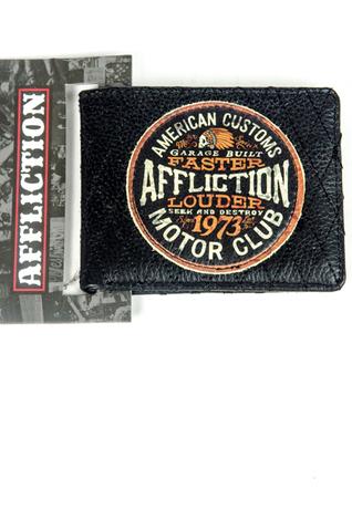 Affliction | Портмоне Customs Motor Club A1163 перед