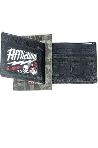 Affliction | Портмоне Customs Motor Club A1163 изнутри