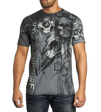 Xtreme Couture   Футболка мужская Darkness Black X1371 от Affliction перед
