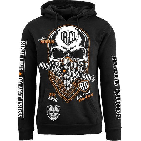 Худи RUSH LINE: DON'T CROSS PULLOVER HOODIE Rush Couture