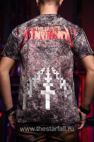 The Saints Sinphony | Футболка мужская PSYCHEDELIC TS515SS спина