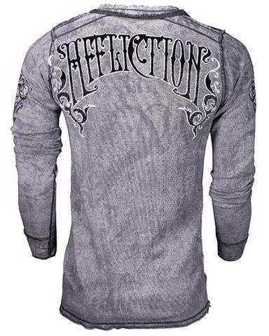 Affliction | Пуловер мужской двусторонний Cast Into A11876 спина
