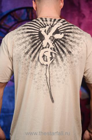 Xtreme Couture | Футболка мужская MATSUNO X1637 от Affliction принт на спине