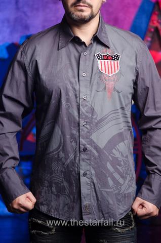 Рубашка Rebel Spirit LSW121392 перед на модели
