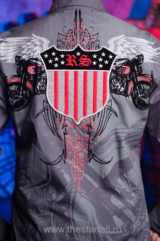 Рубашка Rebel Spirit LSW121392 принт на спине