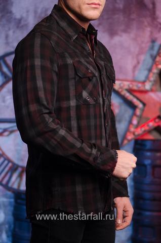 Affliction   Рубашка мужская MOGUL 110WV764 правый бок