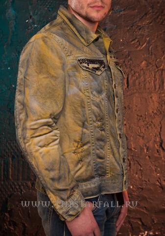 Куртка джинсовая Robin's Jean RJ35333 правый бок