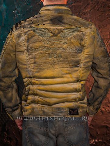 Куртка джинсовая Robin's Jean RJ35333 спина