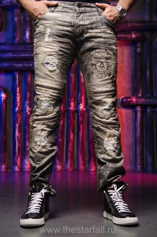 Купить мужские джинсы Robins Jean 5DDRKBROKEN