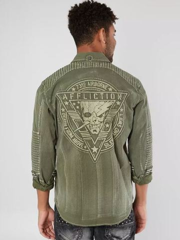 Рубашка Black Premium Crusade Affliction