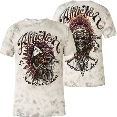 Футболка Affliction American Customs Highway Ritual T-Shirt
